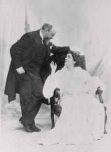 Giuseppe Primoli e Eleonora Duse