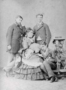Carlotta Bonaparte e figli